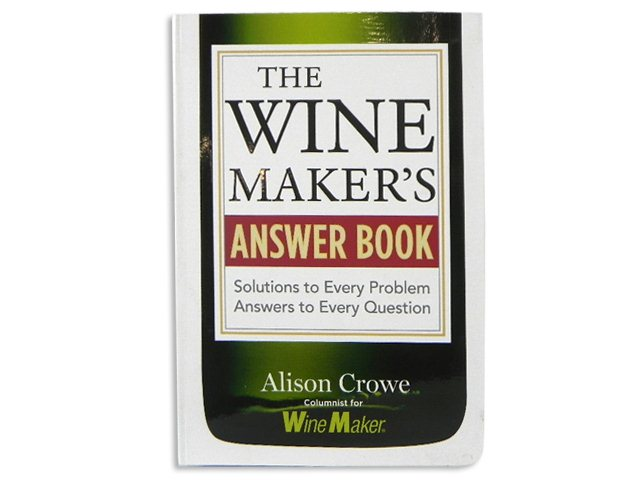 Book, The Winemaker's Answer Book