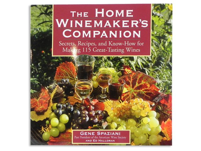 Book, The Home Winemaker's Companion