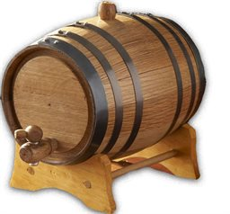 Barrel, Amercan Oak, 20 Liter, GLV20L