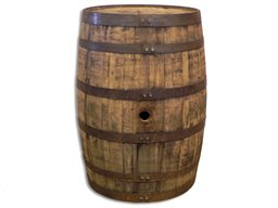 Barrel, Whiskey, 50 Gallon, Furniture Grade