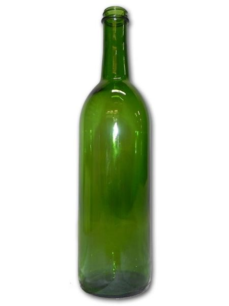 Bottles, Bordeaux, 750ml, Champagne Green,  Screw Top, 12 ct
