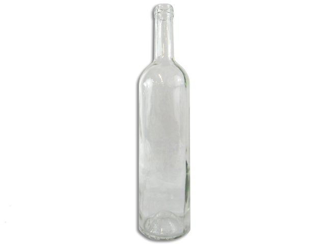 Bottles, Bordeaux, CW 028, Flint (Clear), 750ml, 12ct - High Shoulder