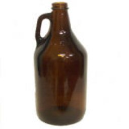 Bottles, Beer, 64oz., Amber, 6ct
