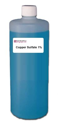 Copper Sulfate, 1% 1L