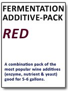 Fermentation Add-Pack (Red Wine)