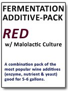Fermentation Add-Pack (Red Wine) with Malo Combo