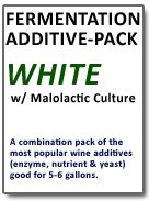 Fermentation Add-Pack (White) with Malo Combo