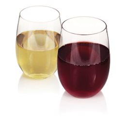 Flexi Stemless Wine Glasses