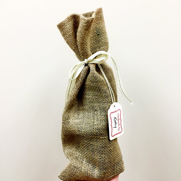 Wine Bottle Bag, Natural