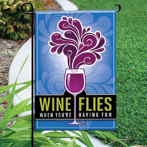 Garden Flag, Wine Flies