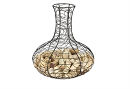 Metal Cork Collector, Decanter