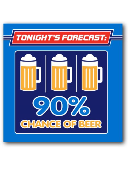 Napkins, Chance of BEER