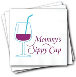 Napkins, Mommys Sippy Cup