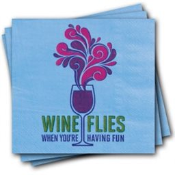 Napkins, Wine Flies