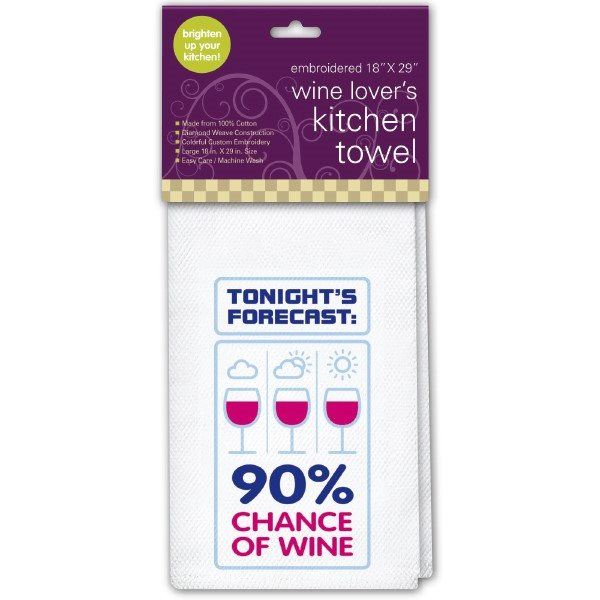 Kitchen Towel, Chance of Wine