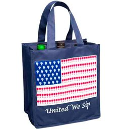 Wine Bottle Bag, United We Sip (6 Bottle)