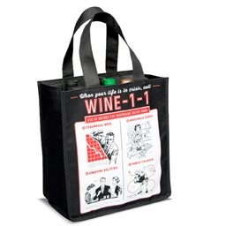 Wine Bottle Bag, Wine 11 (6 Bottle)