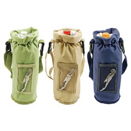 Wine Bottle Bag, Grab and Go Bottle Carrier (Assorted)