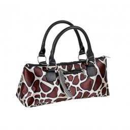 Insulated Clutch, Giraffe Safari