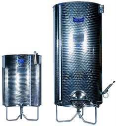 Tank, Variable Capacity, Stainless, Marchisio