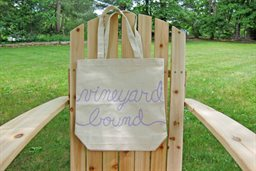 Wine Tote, Vineyard Bound