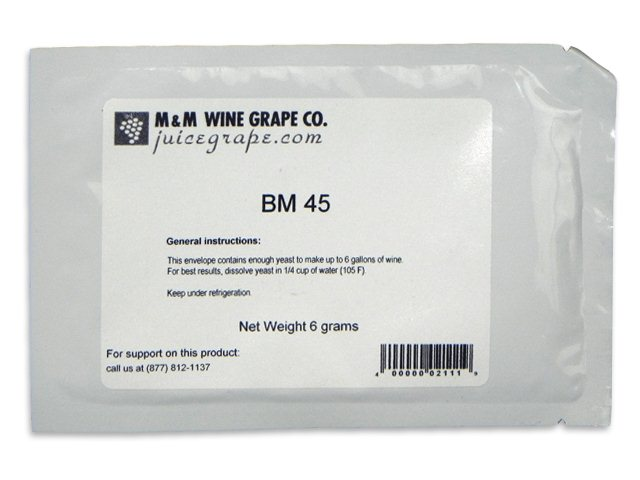 Yeast, BM45, convenience pack