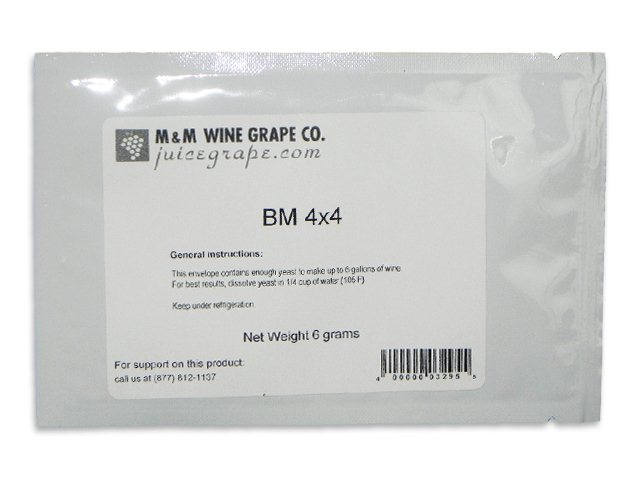 Yeast, BM4x4, convenience pack