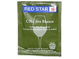 Yeast, Cote Des Blanc, Red Star