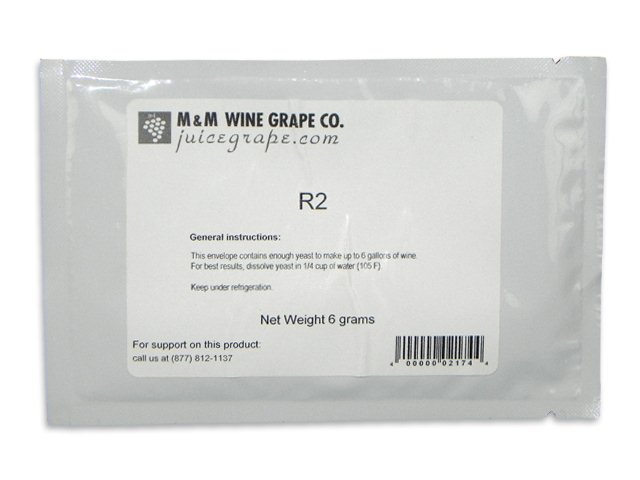Yeast, R-2 VI-A-DRY, convenience pack