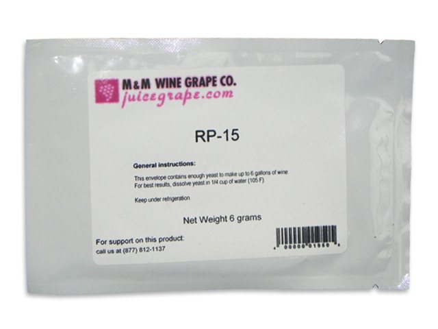 Yeast, RP-15, convenience pack